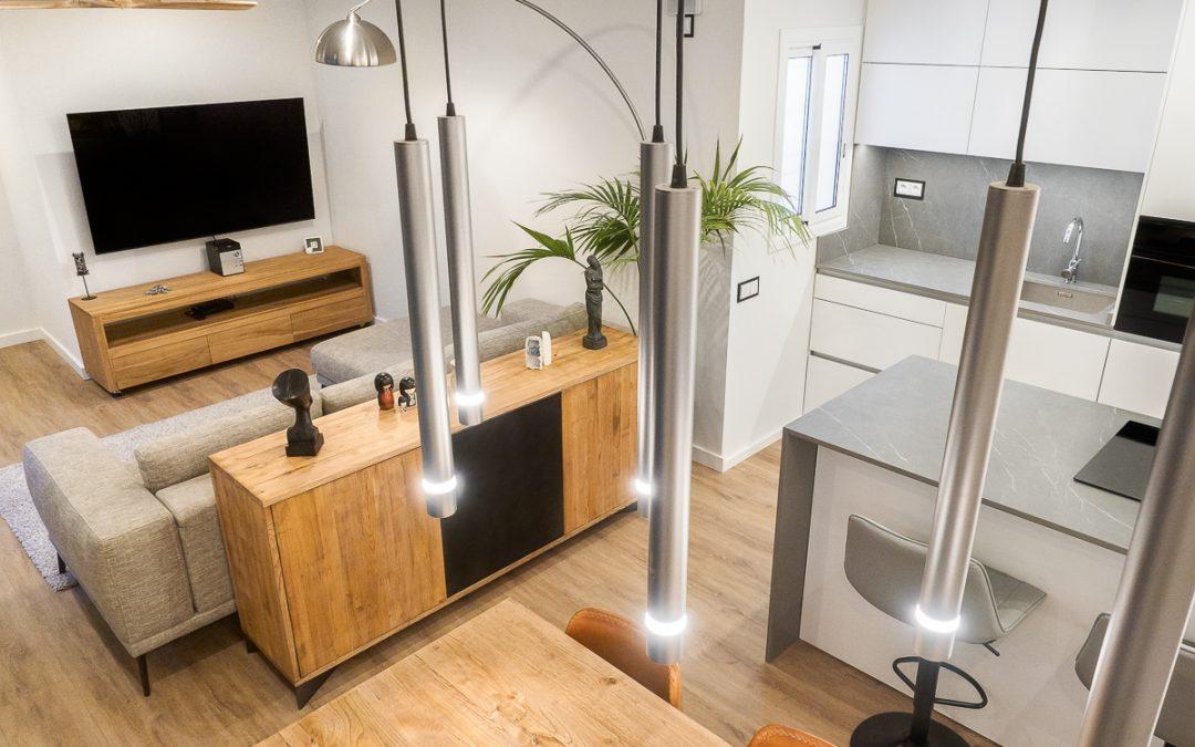 Reforma residencial C/Selva, una combinación perfecta entre estilo y practicidad.