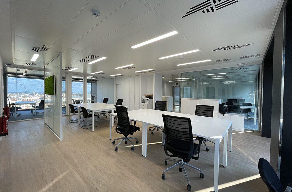 Oficinas edificio PRISMA-DAU